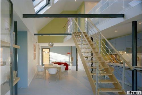 zoom sur la maison loft. Black Bedroom Furniture Sets. Home Design Ideas