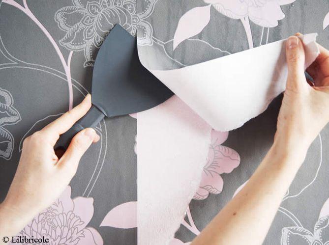 Pr parer un mur avant peinture for Decoller papier peint facilement