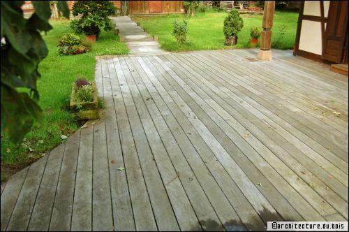 Terrasse En Bois Astuces Et Conseils DEntretien  TravauxCom