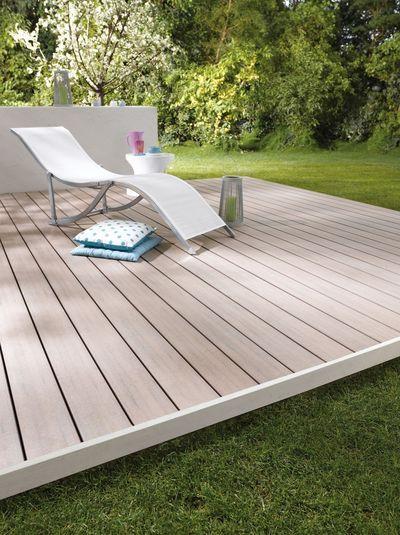 terrasse en bois composite look effet bois entretien en. Black Bedroom Furniture Sets. Home Design Ideas