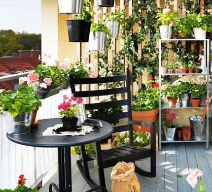 amnagement de terrasse ikea - Decorer Une Terrasse Avec Des Plantes