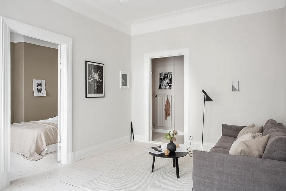 Peinture d 39 int rieur 5 astuces pour agrandir vos pi ces - Peinture interieur appartement ...