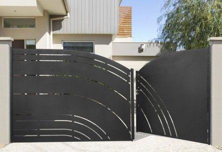 prix d 39 un portail en acier 2018. Black Bedroom Furniture Sets. Home Design Ideas
