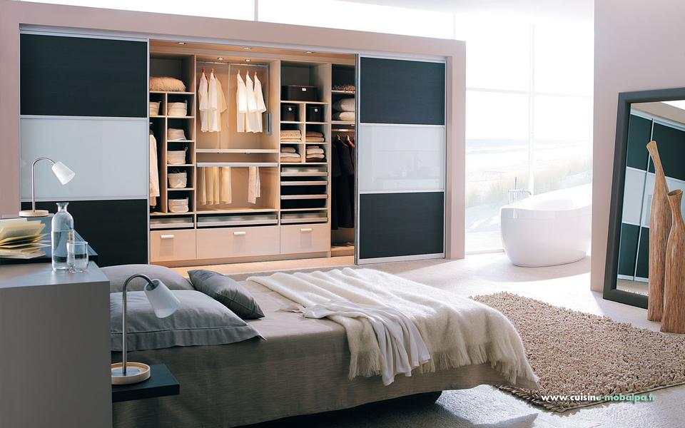 am nager un dressing 7 id es copier. Black Bedroom Furniture Sets. Home Design Ideas