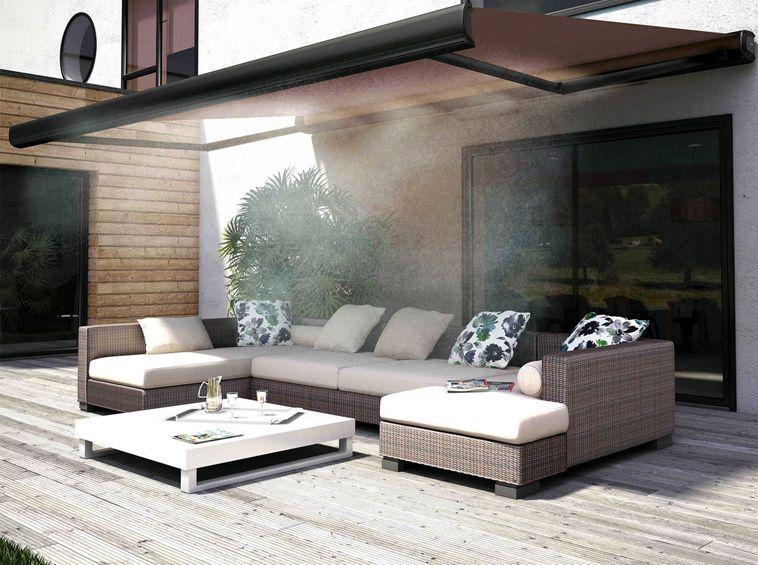 5 id es de stores ext rieurs pour un t au frais. Black Bedroom Furniture Sets. Home Design Ideas