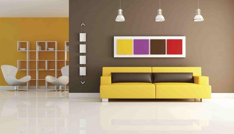 Estimer le prix de la peinture intérieure d\u0027une maison