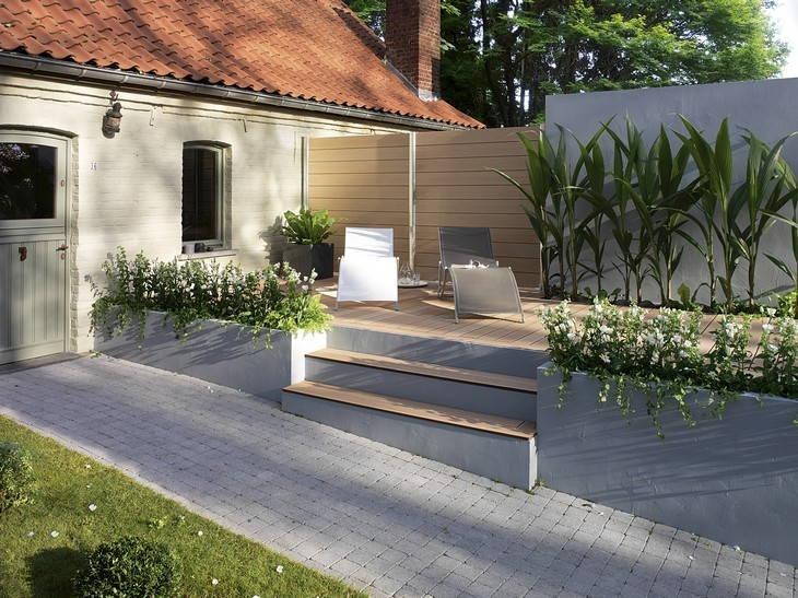 3 id es pour am nager son all e de jardin for Idee terrassement exterieur