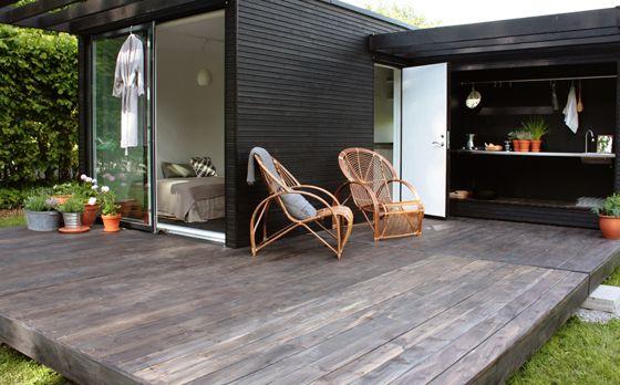 Une cabane d\'architecte comme solution d\'extension   Travaux.com