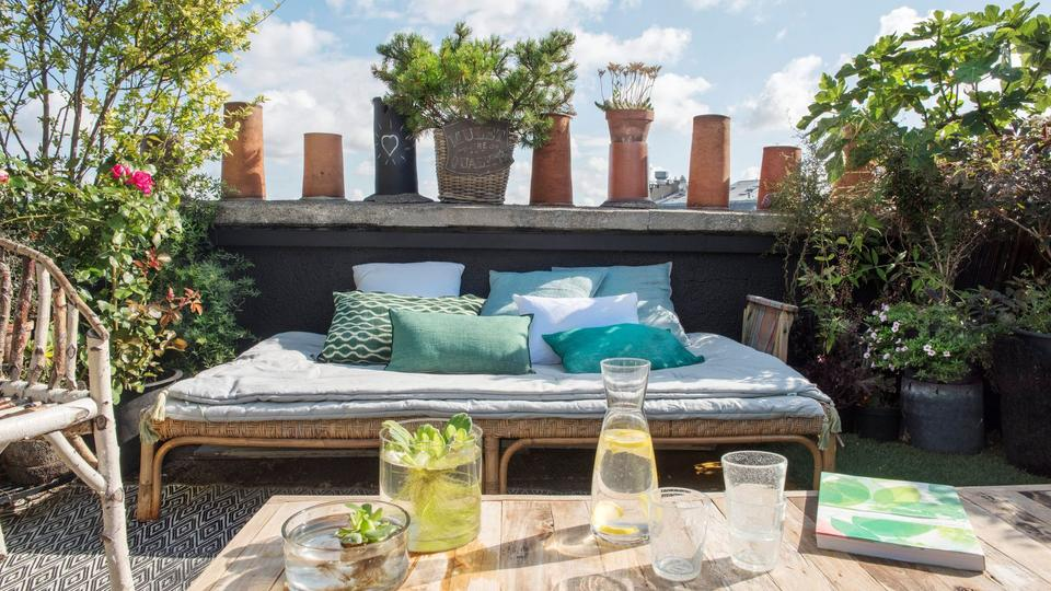 10 id es pour am nager une terrasse for Idee amenagement terrasse