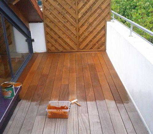 Fabriquer Terrasse En Bois Pas Cher prix de la rénovation d'une terrasse en bois - travaux