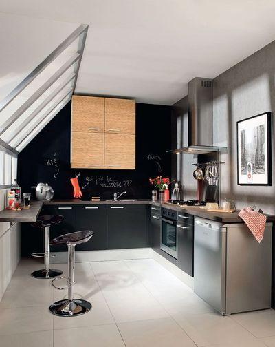 7 id es pour am nager une cuisine avec style. Black Bedroom Furniture Sets. Home Design Ideas