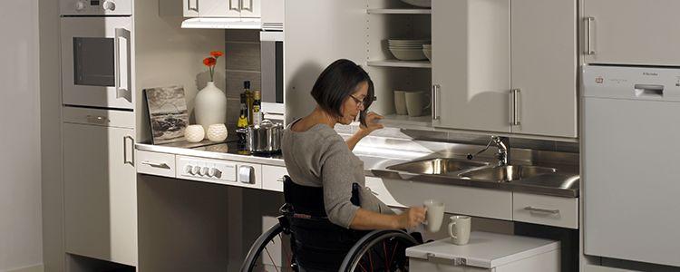 Quelles solutions pour rendre son logement accessible - Cuisine a 3000 euros ...