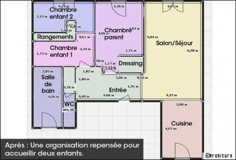 Une chambre en plus en quelques clics for Dimension d un dressing