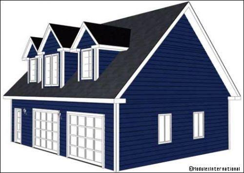 Une maison pr fabriqu e r ve ou r alit - Travaux maison par ou commencer ...