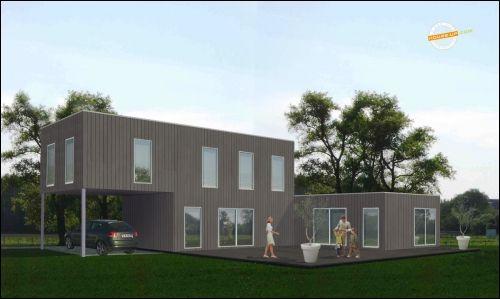 La maison container arrive en france - Constructeur maison container en france ...