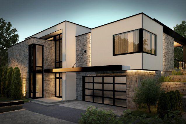 maison architecte toit terrasse