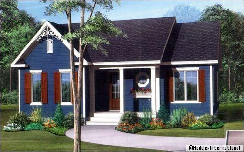une maison pr fabriqu e r ve ou r alit. Black Bedroom Furniture Sets. Home Design Ideas