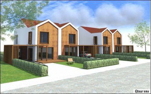 Une maison modulaire innovante la maison aa natura for Anti incendie maison