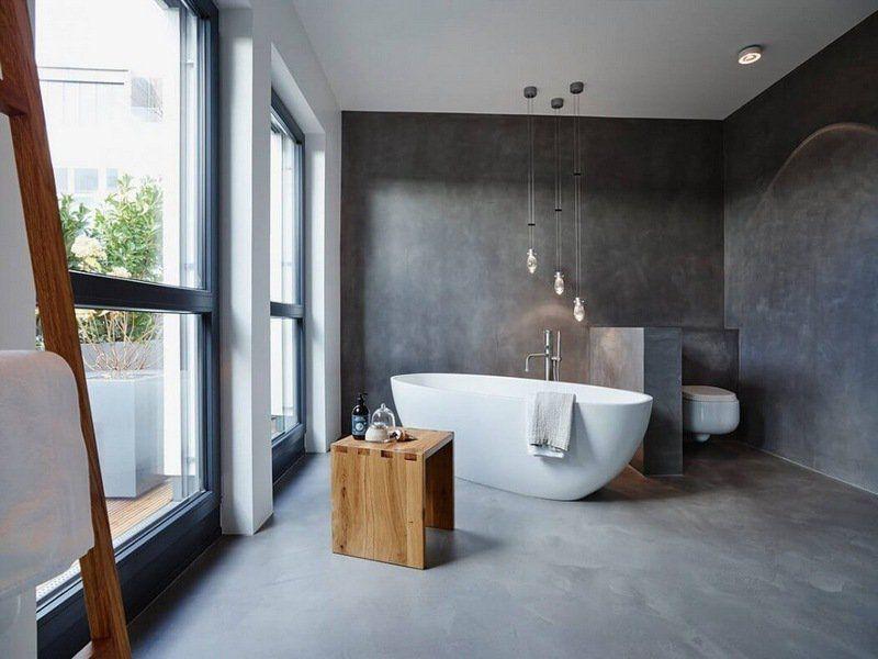 salle de bains : quel revêtement choisir ? | travaux.com - Lino Mural Pour Salle De Bain