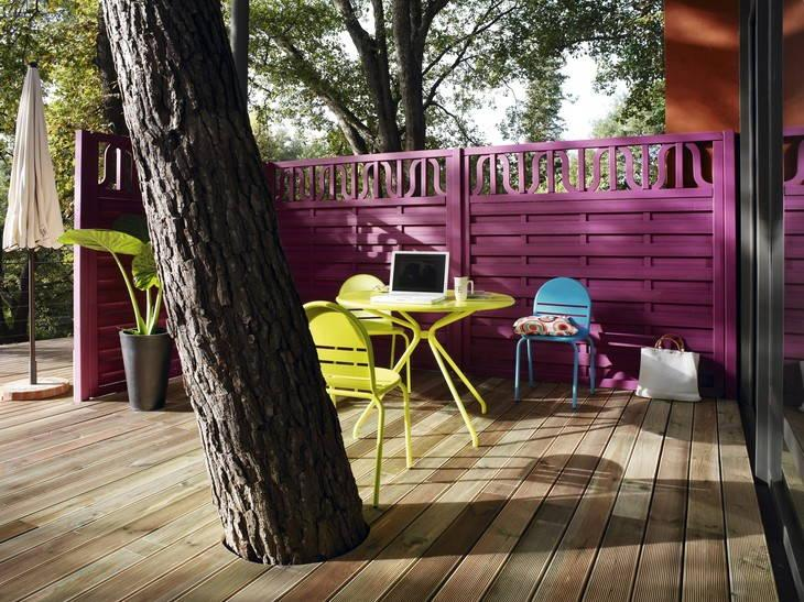 Terrasse en bois 3 conseils pour faire le bon choix - Escalier moderne leroy merlin ...