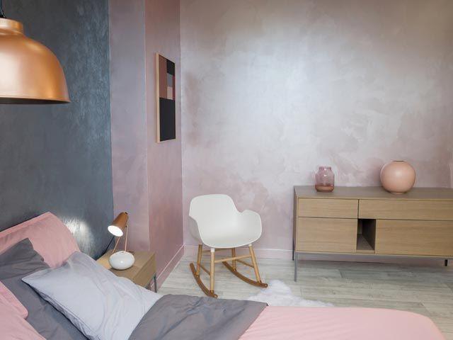 peinture effet les 10 textures du moment. Black Bedroom Furniture Sets. Home Design Ideas