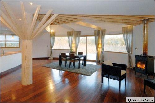 Une maison en bois ronde et cologique - Maisons rondes en bois ...
