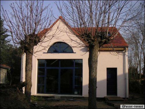 charpente et structure métallique : construction originale à coût ... - Construction Maison Metallique Particulier