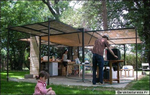 aménager une cuisine d'été: conseils et idées - travaux.com - Amenager Une Cuisine Exterieure