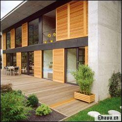 Volets coulissants donner une touche design votre for Quelle couleur choisir pour des volets en bois
