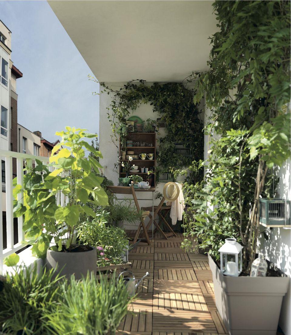 Comment Aménager Jardin Pas Cher aménager une terrasse design sans perdre de place