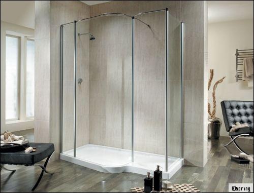 installer une douche plus compliqu quil ny parat - Douche Avec Tuyau Apparent