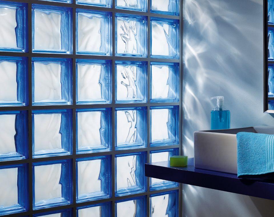 salle de bains craquez pour les briques de verre - Pave De Verre Exterieur