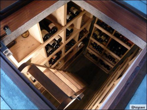 am nager une cave vin chez soi. Black Bedroom Furniture Sets. Home Design Ideas