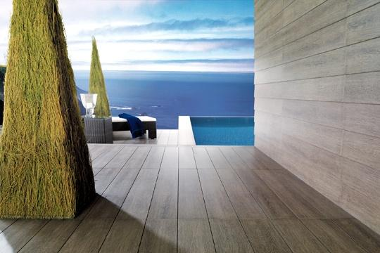 3 terrasses chics pour un effet choc - Suelo terraza exterior precios ...