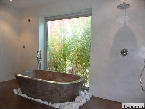 une salle de bains en béton ciré: est-ce vraiment pratique ... - Beton Cire Sur Carrelage Salle De Bain