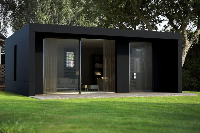 une cabane d 39 architecte comme solution d 39 extension. Black Bedroom Furniture Sets. Home Design Ideas