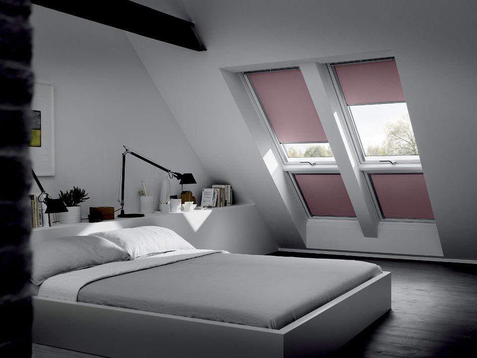 Fen tres de toit quelques id es lumineuses for Dachfenster vorhang