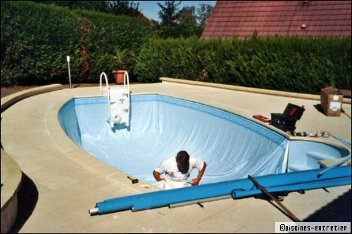 Liner de piscine comment choisir for Changer un liner de piscine
