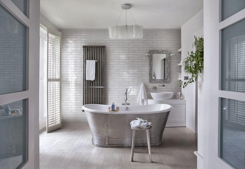 carrelage de salle de bains en faence