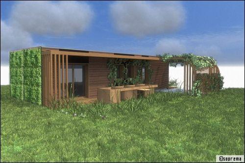 Une maison modulaire innovante la maison aa natura strasbourg - Prix maison modulaire bodard ...