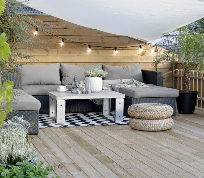 poser une terrasse en bois soi m me. Black Bedroom Furniture Sets. Home Design Ideas