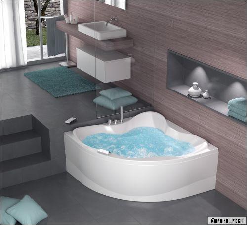 Spa ou baignoire baln o que choisir for Equipement baignoire