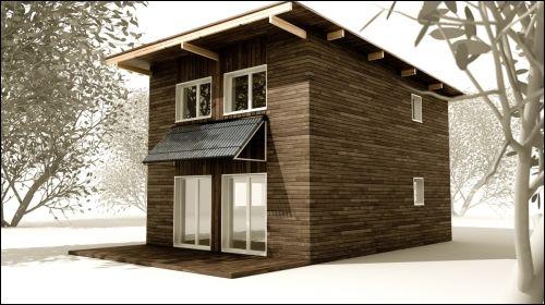 Une maison individuelle pr fabriqu e construite en alsace - Maison prefabrique prix ...