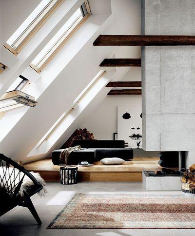 fen tres de toit quelques id es lumineuses. Black Bedroom Furniture Sets. Home Design Ideas