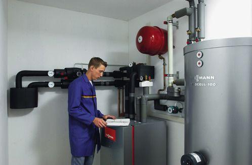 Installation de pompe à chaleur Viessmann