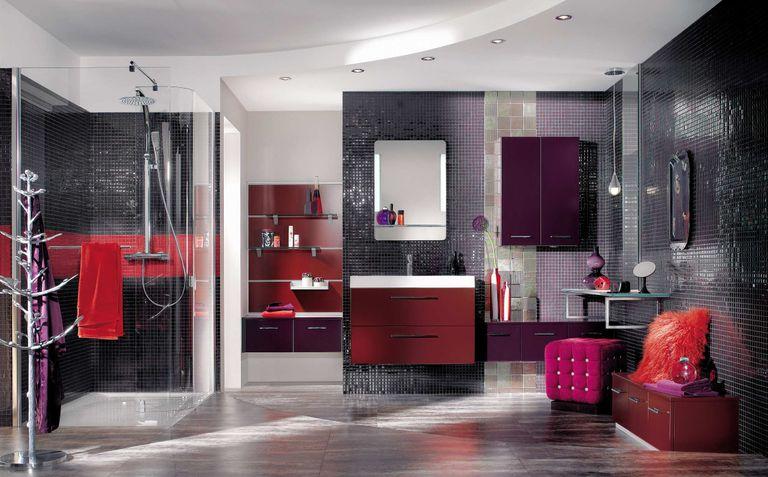 la douche lot nouvelle tendance de la salle de bains. Black Bedroom Furniture Sets. Home Design Ideas