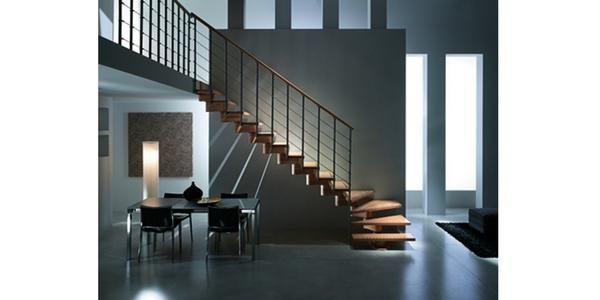 Escalier sur mesure Menuiserie Industriel