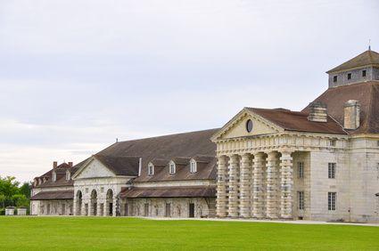 Bâtiment classé Salines Royales d'Arc-et-Senans
