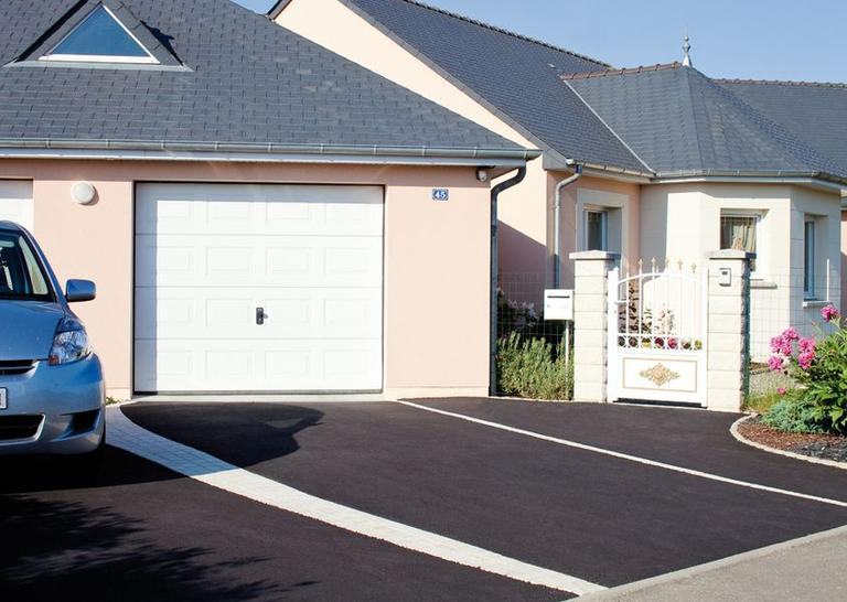 Goudronnage des all es quel mat riau choisir - Comment faire une descente de garage en beton ...
