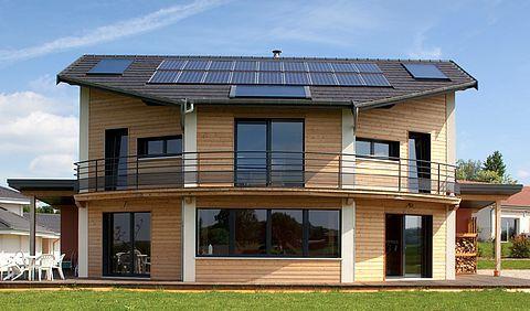 Maison bioclimatique Maison Richard